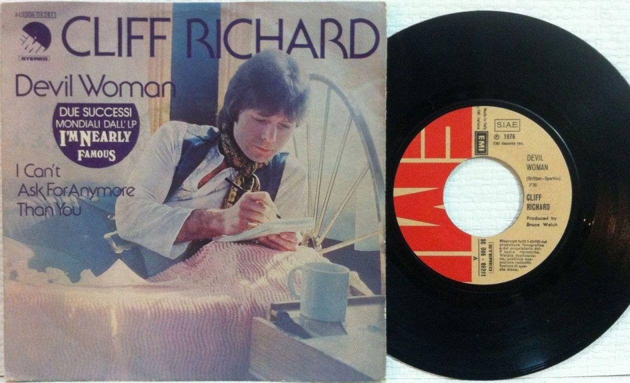 Cliff Richard Song Database Cliff Richard Devil Woman