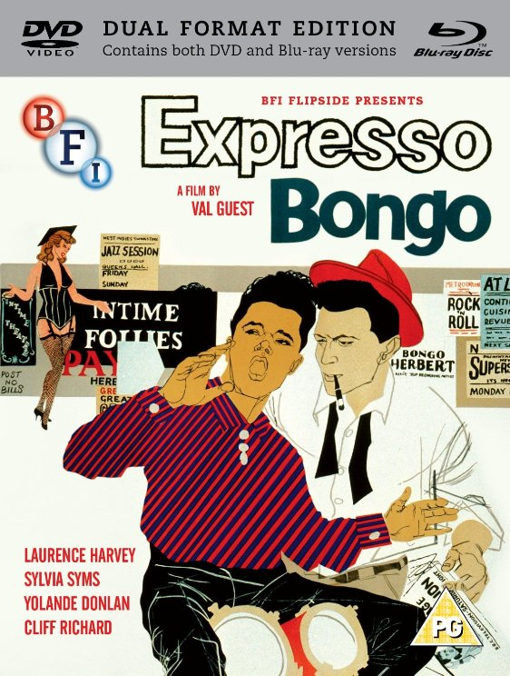 Expresso Bongo Blu-ray and DVD