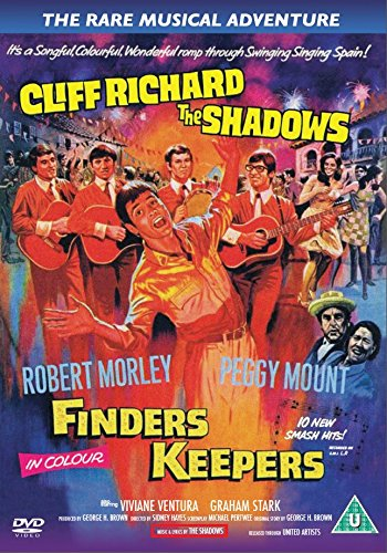 The 1966 movie with The Shadows - First time on DVD!